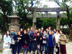 sumiyoshi shrine (Nahi the sound of jars: field trip)
